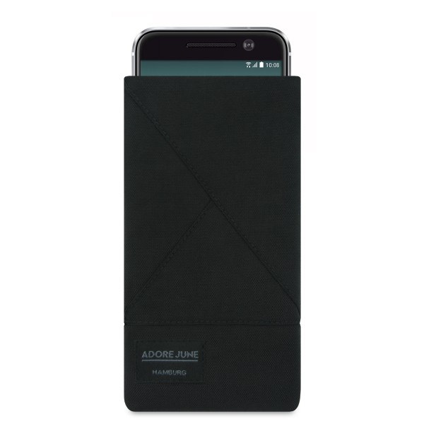 Image 1 of Adore June Triangle Sleeve for HTC 10 Color Black