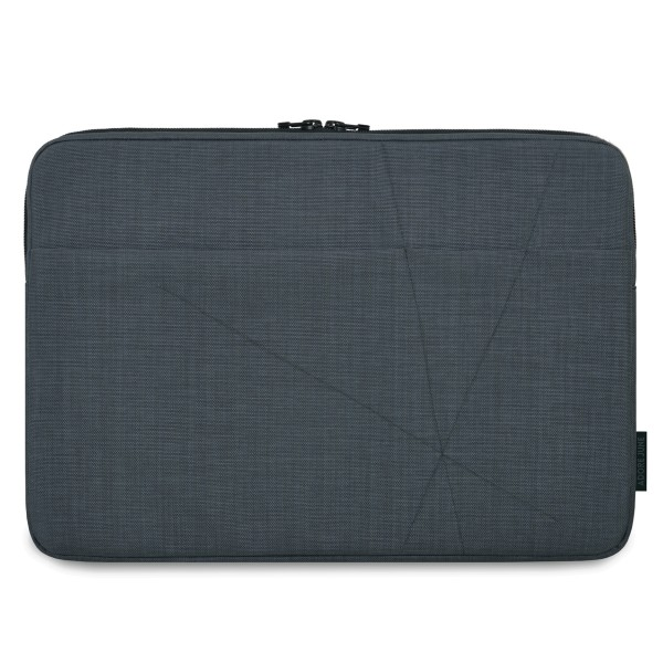 The picture shows the front of Axis Sleeve for Apple MacBook Pro 15 2012-2015 in color Dark Grey