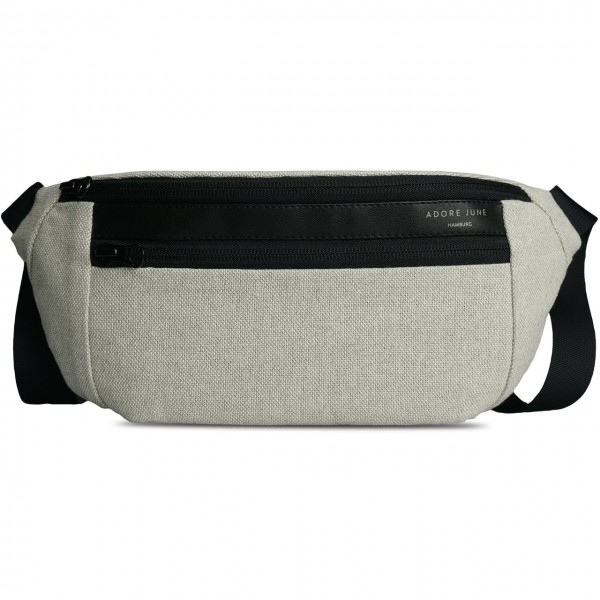 Image 1 of Adore June Fanny Pack Reto Color Light Grey