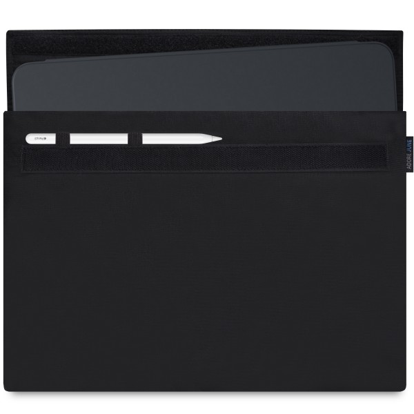 Image 1 of Adore June Classic Sleeve for Apple iPad Pro 12 2018 with Apple Pen Holder Color Black