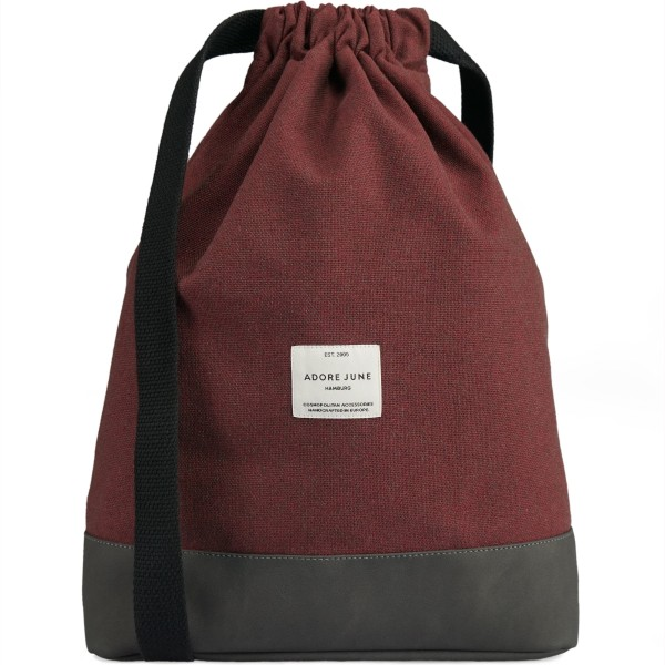 Image 1 of Adore June City Daypack Bob Color Bordeaux Red