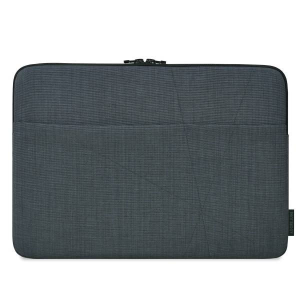 The picture shows the front of Axis Sleeve for Apple MacBook Pro 15 in color Dark Grey