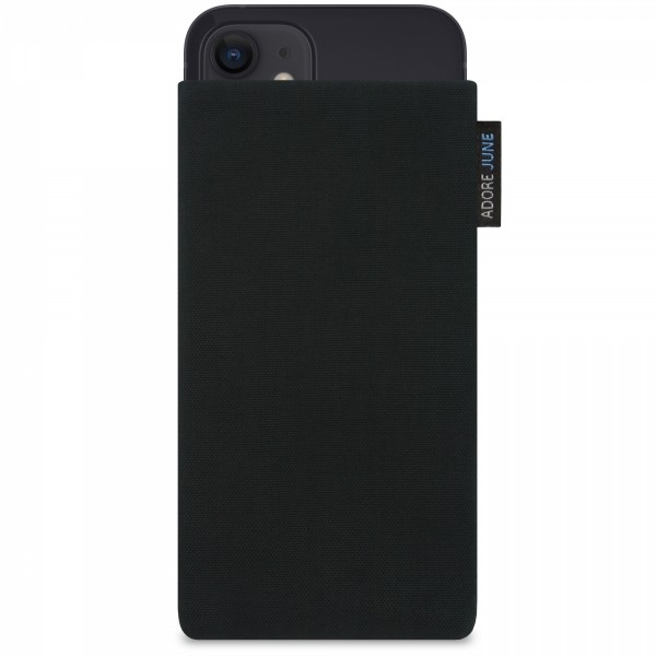 Image 1 of Adore June Classic Sleeve for Apple iPhone 12 Mini Color Black
