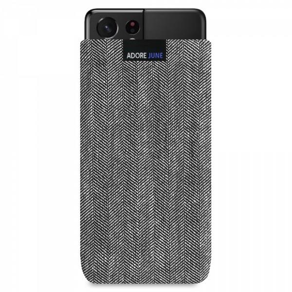 Bild 1 von Adore June Business Tasche für Samsung Galaxy S21 Ultra in Farbe Schwarz / Grau