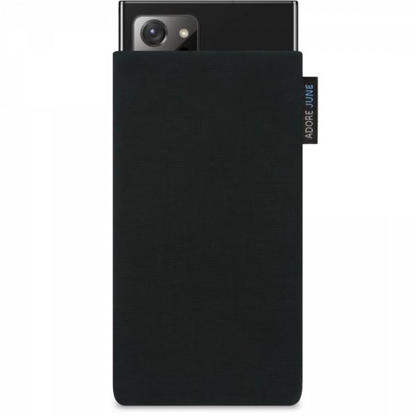 Image 1 of Adore June Classic Sleeve for Samsung Galaxy Note 20 Ultra Color Black
