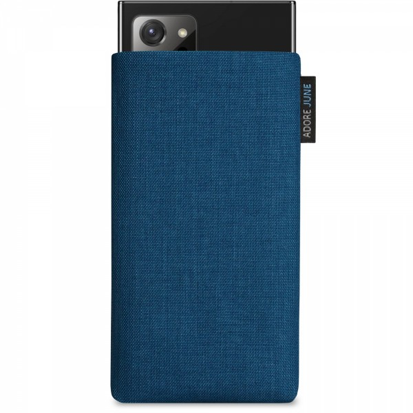 Image 1 of Adore June Classic Sleeve for Samsung Galaxy Note 20 Ultra Color Ocean-Blue