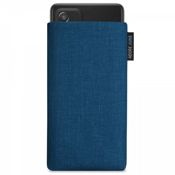 Image 1 of Adore June Classic Sleeve for Samsung Galaxy A52 Color Ocean-Blue
