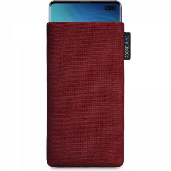 Bild 1 von Adore June Classic Tasche für Samsung Galaxy S10 Plus in Farbe Bordeaux-Rot
