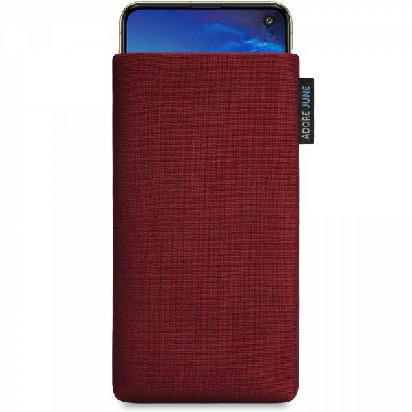 Bild 1 von Adore June Classic Tasche für Samsung Galaxy S10e in Farbe Bordeaux-Rot