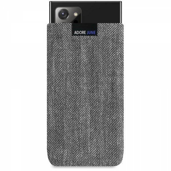 Image 1 of Adore June Business Sleeve for Samsung Galaxy Note 20 Ultra Color Grey / Black