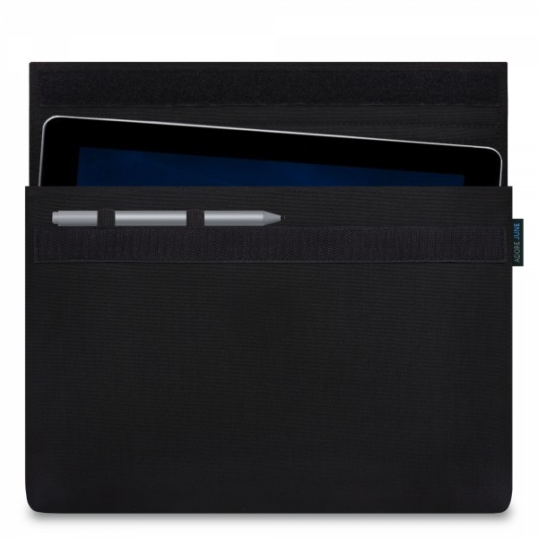Image 1 of Adore June Classic Sleeve for Microsoft Surface Go with Surface Pen Holder Color Black