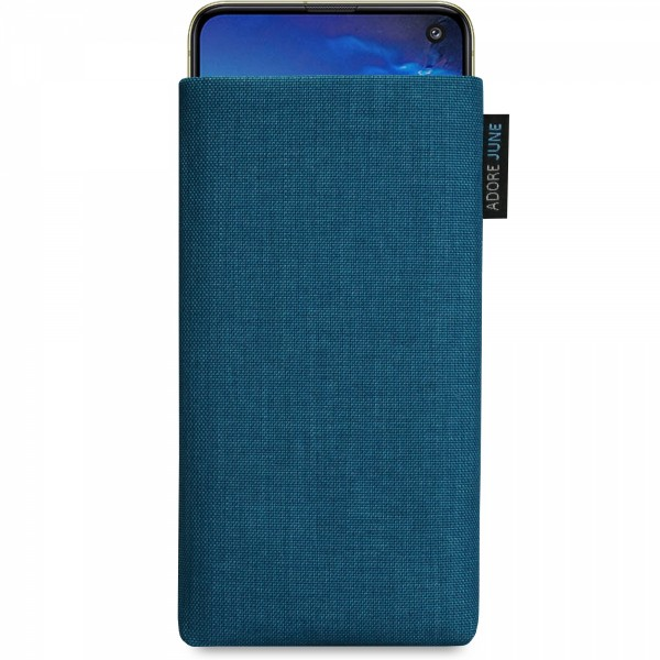 Image 1 of Adore June Classic Sleeve for Samsung Galaxy S10e Color Ocean-Blue