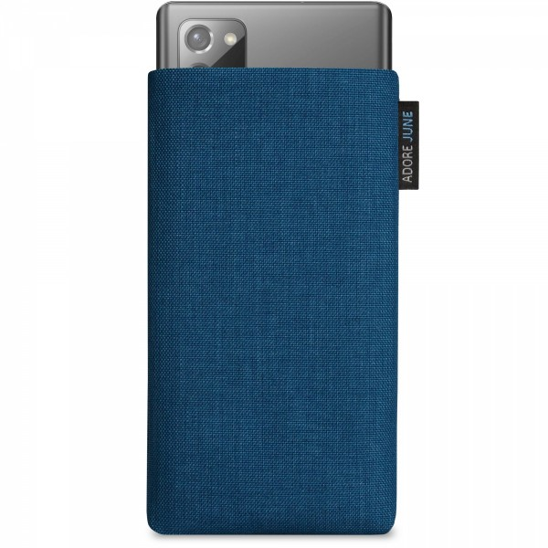 Image 1 of Adore June Classic Sleeve for Samsung Galaxy Note 20 Color Ocean-Blue
