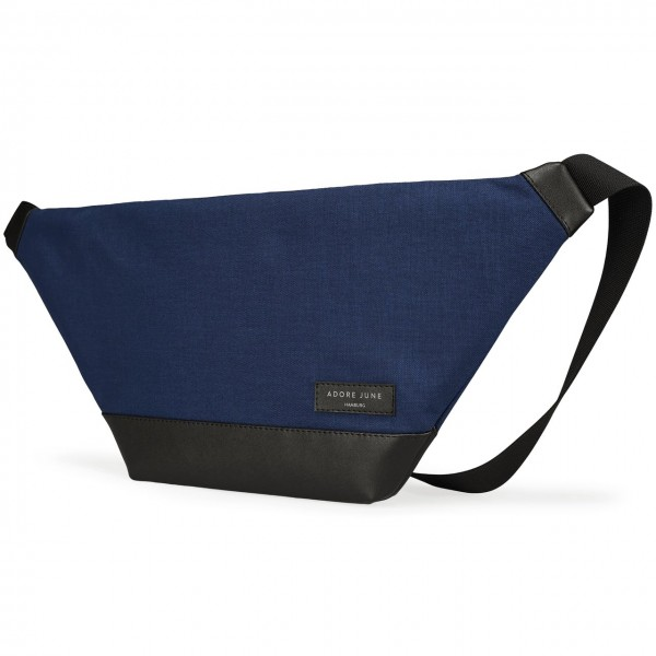 The picture shows the front of Fanny Pack Rohrbacher in color Midnight Blue