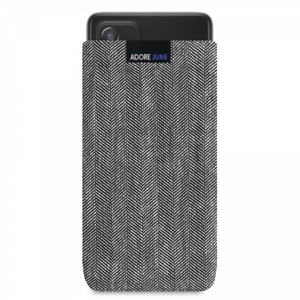 Image 1 of Adore June Business Sleeve for Samsung Galaxy A52 Color Grey / Black