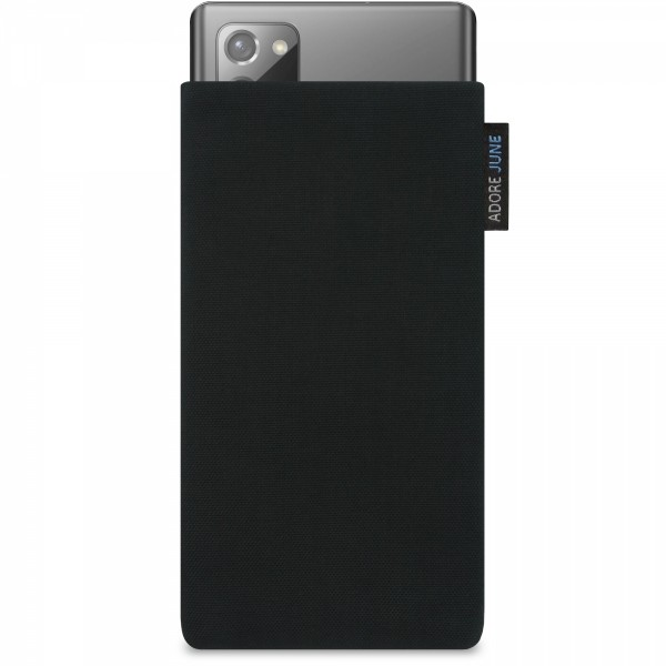 Image 1 of Adore June Classic Sleeve for Samsung Galaxy Note 20 Color Black