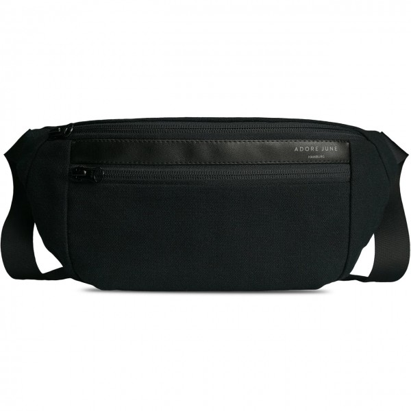 Image 1 of Adore June Fanny Pack Reto Color Black