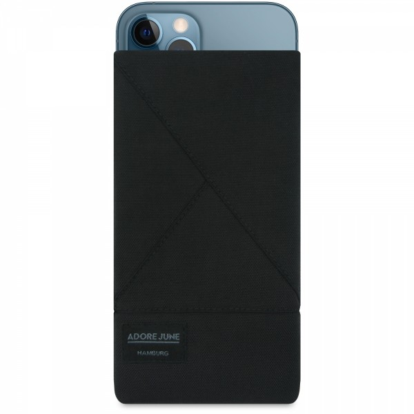 Image 1 of Adore June Triangle Sleeve for Apple iPhone 12 Pro Max Color Black