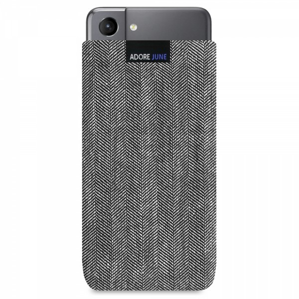 Image 1 of Adore June Business Sleeve for Samsung Galaxy S21 Color Black / Grey