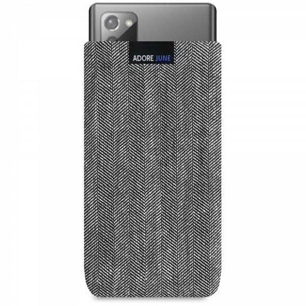 Image 1 of Adore June Business Sleeve for Samsung Galaxy Note 20 Color Grey / Black