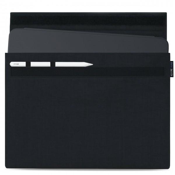 Bild 1 von Adore June Classic Hülle für Apple iPad Pro 12 9 mit Apple Pen Halterung in Farbe Schwarz